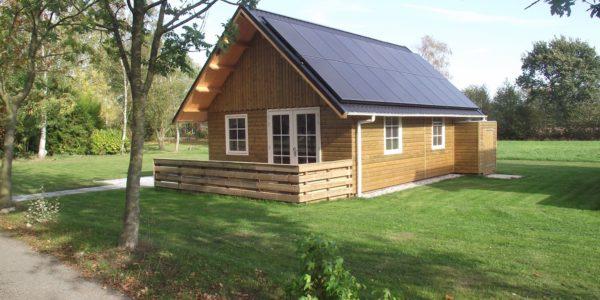Twee Nieuwe En Energie-neutrale Vakantiehuizen